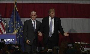 Donald Trump anuncia nome do vice na chapa na corrida à Casa Branca