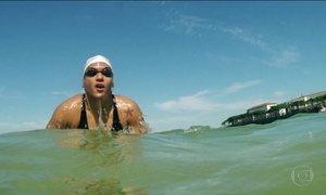 Campeã na piscina, Ana Marcela tornou-se atleta do mar