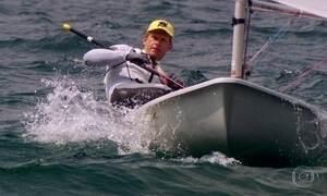 Robert Scheidt, o senhor dos ventos, conquista medalhas em seu veleiro