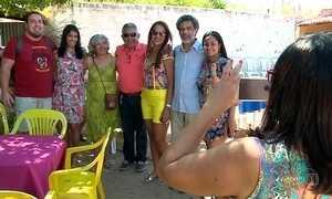 Família se reúne em Teresina para repetir foto tirada há 56 anos