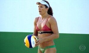 Guerreira, Larissa busca o ouro no vôlei de praia na Olimpíada do Rio