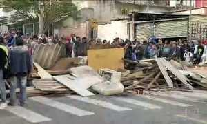 Reintegração de posse resulta em confronto com a PM em São Paulo