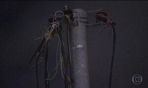 Roubo de fios em São Paulo afeta iluminação pública, transportes e telefonia