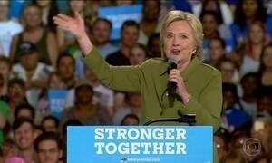 Partido Democrata abre convenção para confirmar Hillary e revela divisão