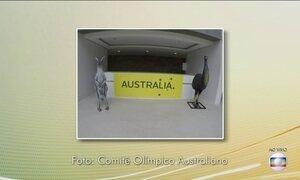 Delegação da Austrália volta para a Vila Olímpica nesta quarta-feira (27)