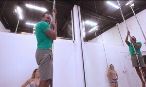 Hoje é dia de Olimpíada: pole dance