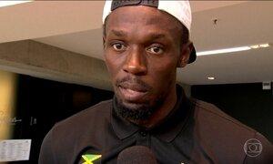 Usain Bolt treina em silêncio e garante estar em plena forma