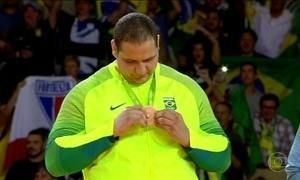 Judoca Rafael Silva garante a quarta medalha do Brasil no Rio 2016