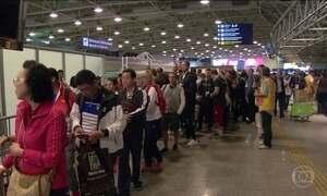 Aeroporto internacional do Rio tem dia de maior movimento da história