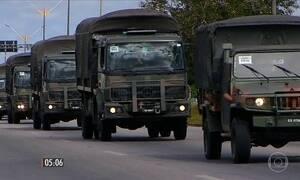 Tropas das Forças Armadas devem se retirar do RN