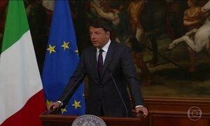 Líderes prestam solidariedade à Itália