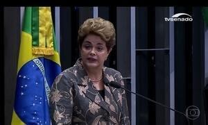 Dilma Rousseff faz sua defesa no processo de impeachment do Senado