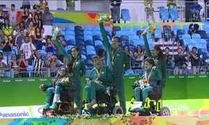 Brasil conquista duas medalhas inéditas na bocha paralímpica