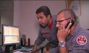 Samu não atende quatro de cada dez ligações de emergência em SP