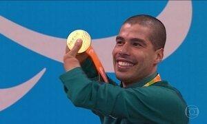 Daniel Dias nada nove vezes na Paralimpíada e vai ao pódio em todas