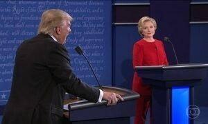 Pesquisas indicam que Hillary se saiu melhor em debate com Trump