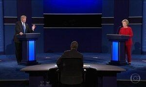 Segundo pesquisas, Hillary se saiu melhor no debate com Trump