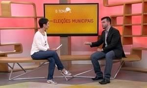 O tema é eleições municipais
