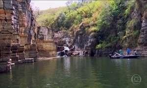 Capitólio, em Minas Gerais, é uma cidade com cânions e cachoeiras