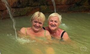 Água termal e pedras vulcânicas dos Açores têm propriedades curativas