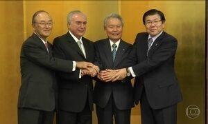 Temer encerra compromissos no Japão em jantar com Shinzo Abe