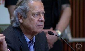 Dirceu presta depoimento a Moro em ação sobre propina
