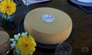 Autêntico queijo suíço é produzido nas serras de Goiás