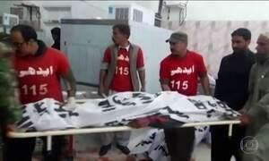 Atentado suicida no Sul do Paquistão deixa mortos e feridos