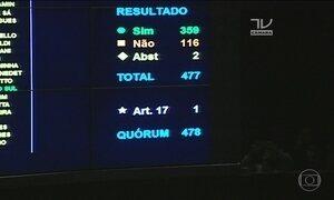 Câmara aprova em 2ª votação a proposta do teto de gastos públicos