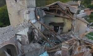 Tremores de terra na região de Visso, na Itália, já chegam a 340