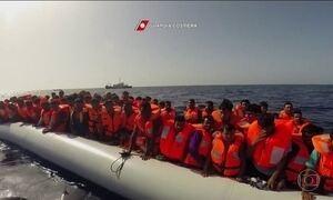 Mais de 200 imigrantes morrem em dois naufrágios no Mar Mediterrâneo