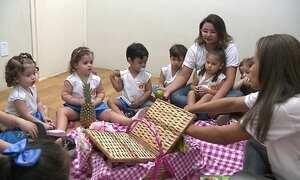 Escola estimula alimentação através de contos