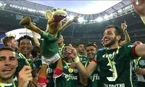 Palmeiras conquista o Brasileiro; veja os gols da rodada