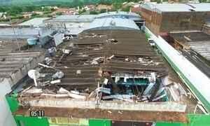 Temporal provoca destruição e prefeitura decreta calamidade
