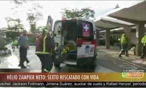 Zagueiro Neto é resgatado vivo do acidente com avião da Chapecoense
