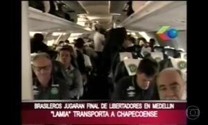 Vídeo mostra passageiros antes de o avião levantar voo na Bolívia