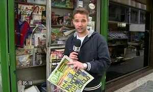Jornalistas de diversos veículos de comunicação morreram no acidente