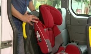 Contran suspende uso obrigatório de cadeirinha em transporte escolar