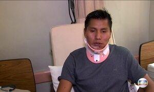Tripulante do voo da 'Chape' revela, no hospital, detalhes do acidente
