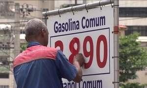 Preço da gasolina sobe nos postos logo após reajuste nas refinarias