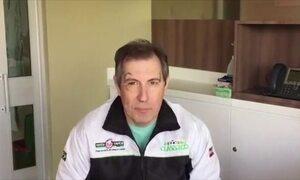 Rafael Henzel fala sobre o momento da queda do avião da Chapecoense