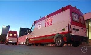 Verbas para ambulâncias do Samu não têm controle, diz levantamento