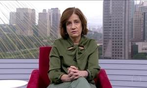 Miriam Leitão comenta volta da febre amarela no Brasil