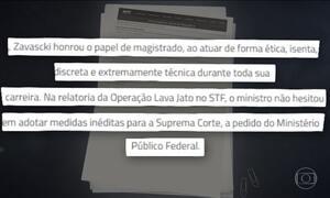 Janot e Moro lamentam morte do relator da Lava Jato no Supremo
