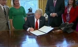 Trump inicia redução de regras do mercado financeiro dos EUA