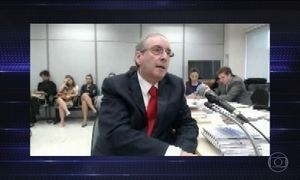 Eduardo Cunha enfrenta juiz Sérgio Moro pela primeira vez