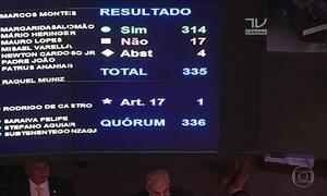 Câmara aprova urgência para projeto que ameniza punição a partidos