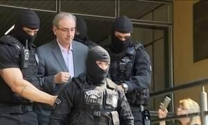 Cunha cita Temer em depoimento na Lava Jato e diz ter aneurisma cerebral
