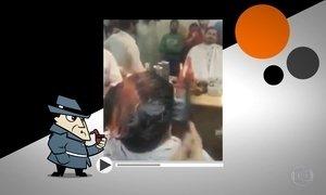 Detetive Virtual investiga homem que usa fogo para cortar cabelos
