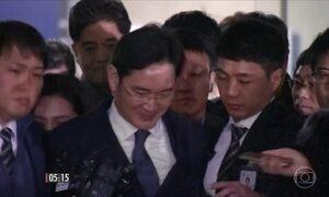 Herdeiro e vice-presidente da Samsung é preso na Coreia do Sul